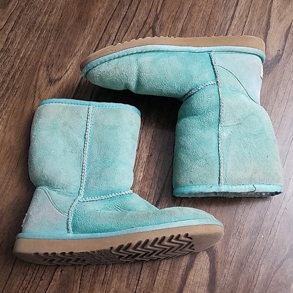 4a7f1db90a8 UGG 5825 Classic Short Boots- Turquoise